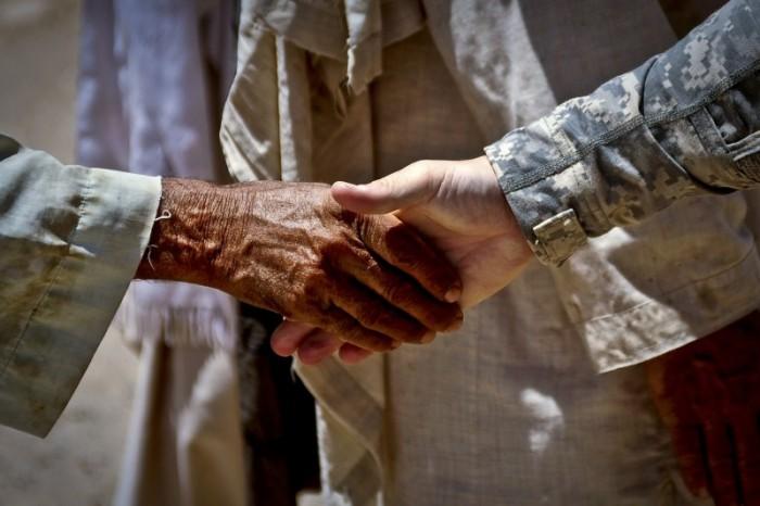Handshake and Hiring Photo