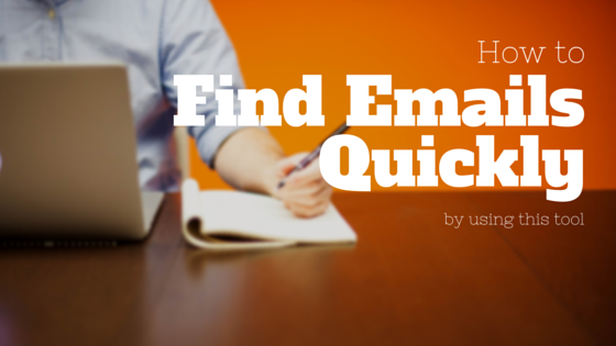 GB 93 - how to find emails quickly using this tool