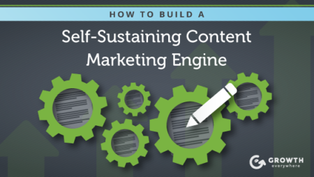 how to build a self sustaining content marketing engine