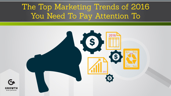 The Top Marketing Trends of 2016 You Need To Pay Attention To