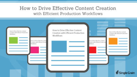 How to Drive Effective Content Creation with Efficient Production Workflows