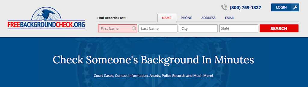 Free Background Check