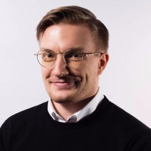 Mikael Lauharanta, Co-Founder and COO of Smarp