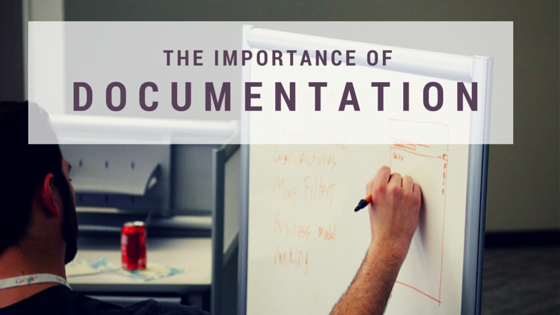 GB 112 - The importance of documentation