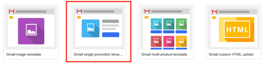 Gmail Sponsored Promotions