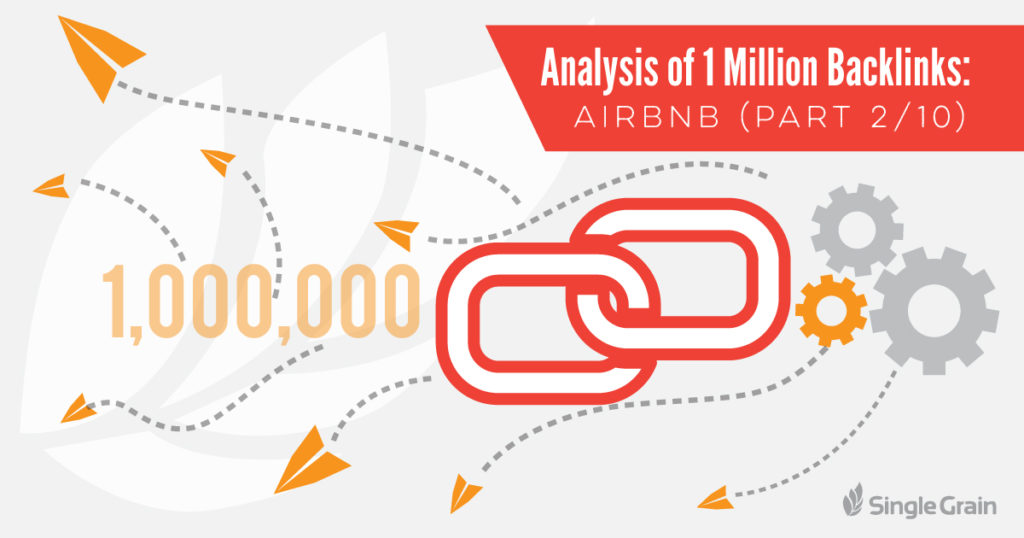 Analysis of 1 Million Backlinks Airbnb