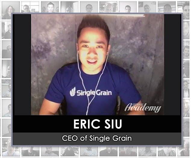 Eric Siu CEO Single Grain